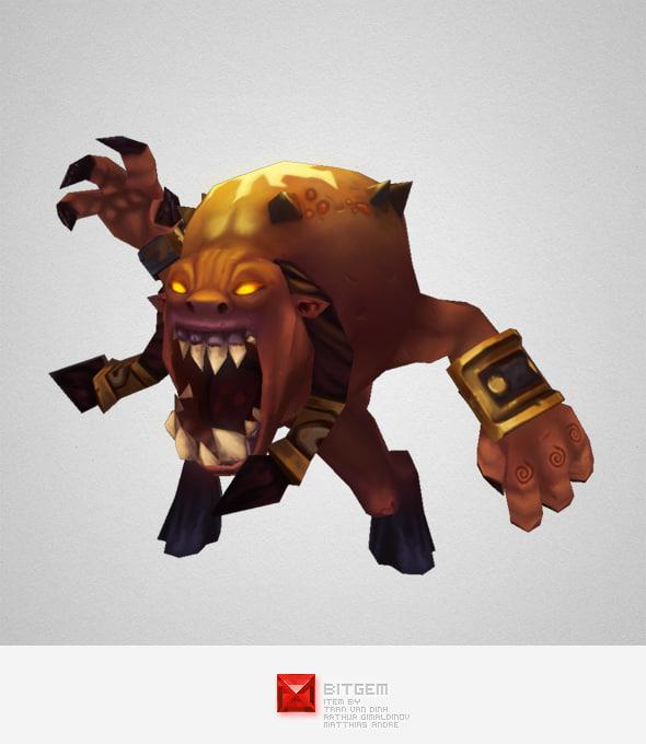 monster demon living bomb ma