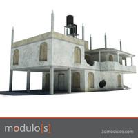 Ruin building G