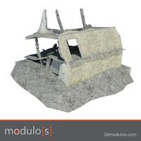 Ruin building D