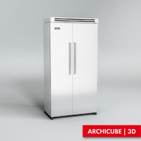 3dsmax refrigerator