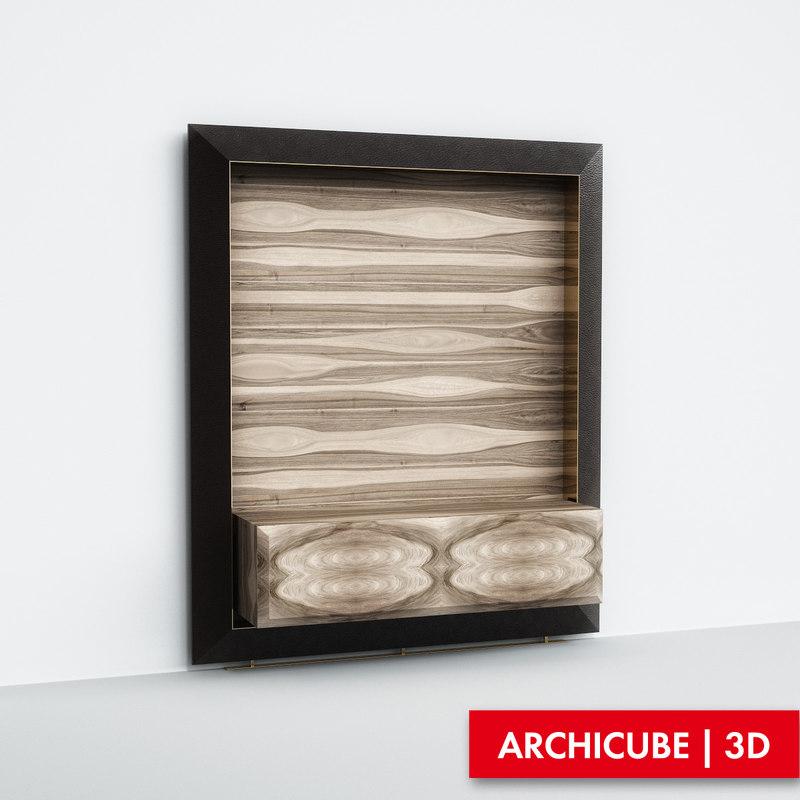 furniture tv 3d max