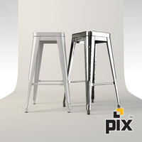 Xavier Pauchard - Metal Bar Stool