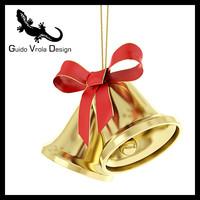 3d model christmas bells