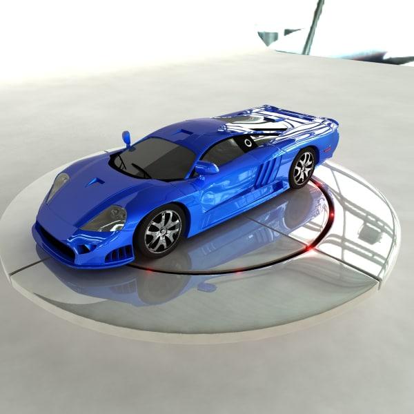 obj sports car sportscar