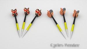 3d model dart blender great