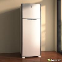 3ds max freezer refrigerator
