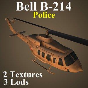bell pol helicopter 3d model