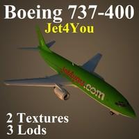 B734 JFU