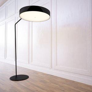 obj corner lamp r