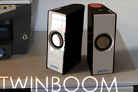 Speaker Twin Boom