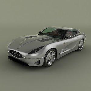 3d max lyonheart k coupe concept