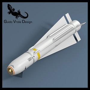 maverick missile 3d 3ds