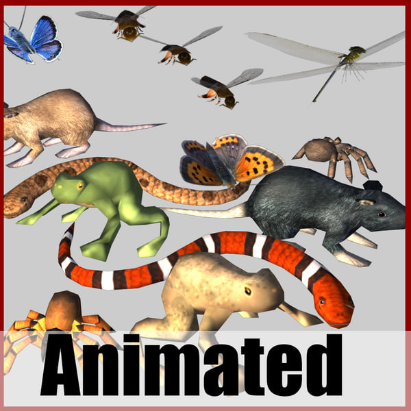 critter pack 3d max
