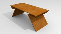 modern table obj free