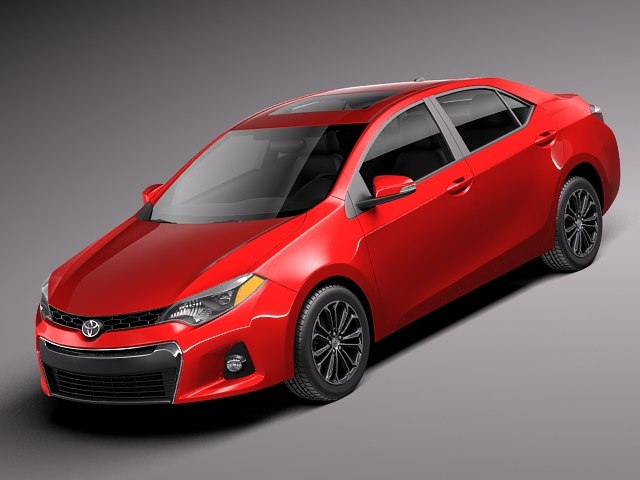 2014 usa toyota 3d model