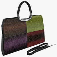 woman handbag 8 bag 3d model