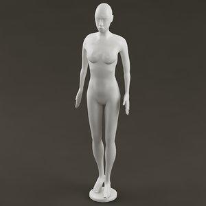 3d mannequin man model