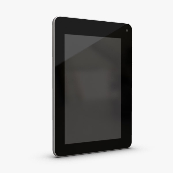 3d model of acer tablet iconia b1-711