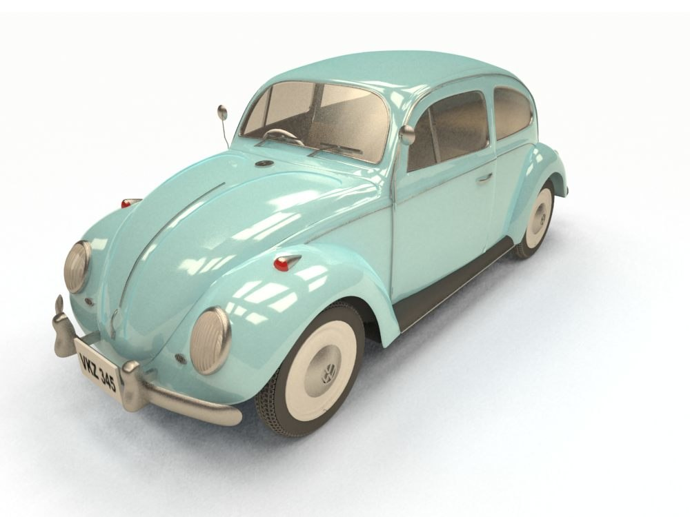rigged beetle 3d max