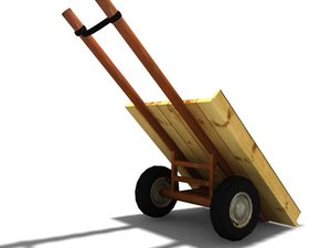 donky cart 3d max