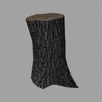 tree stump fbx free