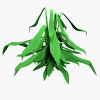3d obj plant root