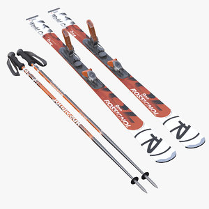 alpine ski poles max