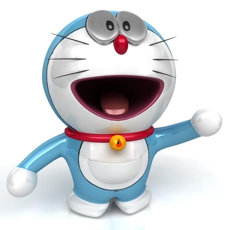 Doraemon 3d Game: 3d 3ds Doraemon Character