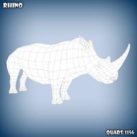 c4d rhino base mesh