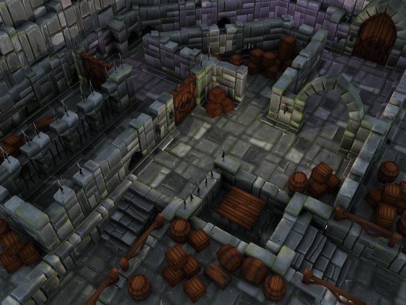 3d model wall maze