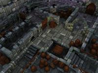 Castle maze walls