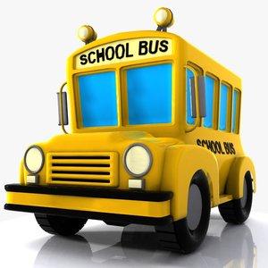 3ds school bus