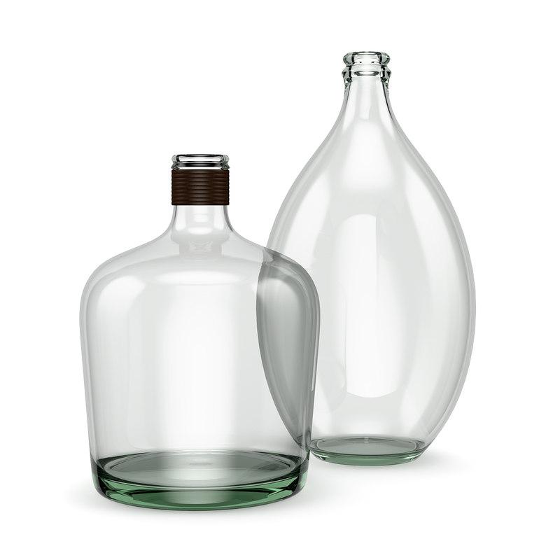 3d model glass jar