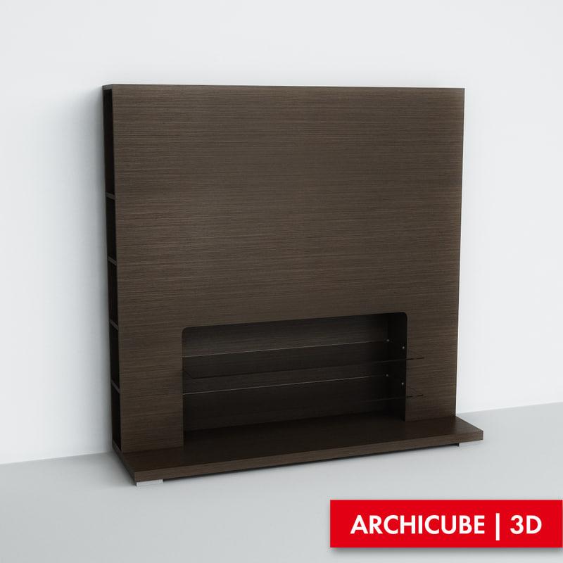 3d furniture tv model