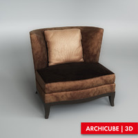 Donghia, Geneva Club Chair 50462
