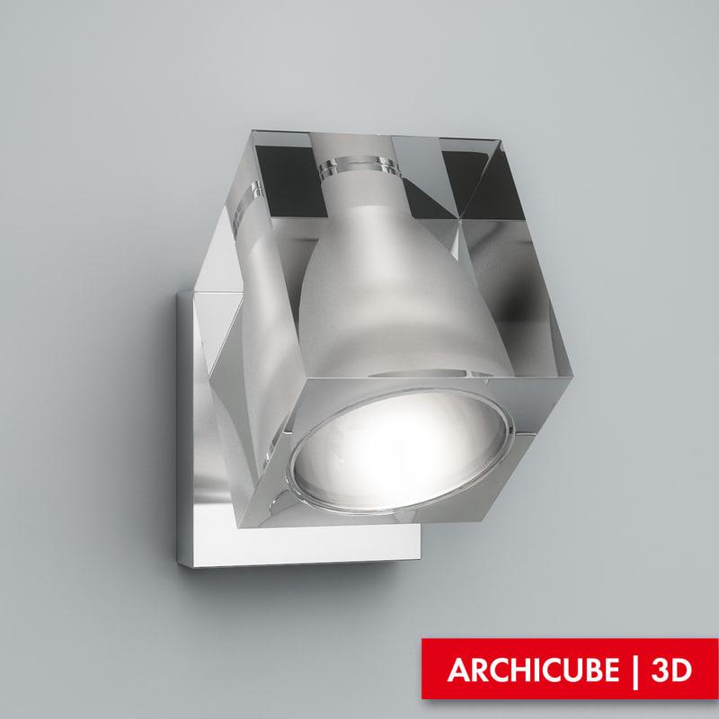 3d sconce model