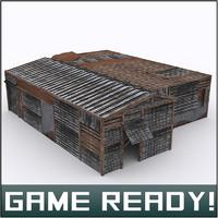 slums building 2 3d fbx
