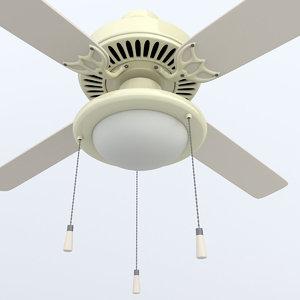 ceiling fan lighting 3d model