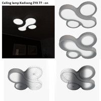 Ceiling lamp Kadiseng ZYX 77 - vray on