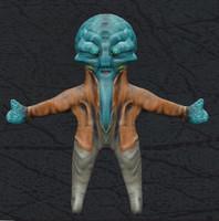 3d wizard model
