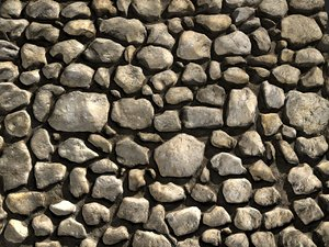 3d model tileable stone