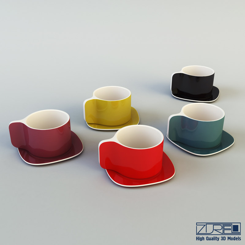 cup 3d max