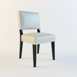 3d model entry chair