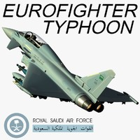 3d eurofighter typhoon