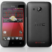 3d htc desire 200 black model