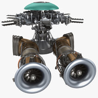 helicopter engine 4 3ds