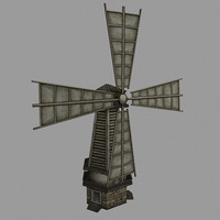 3d mill grinder model