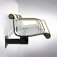 bench centro underground 3d model