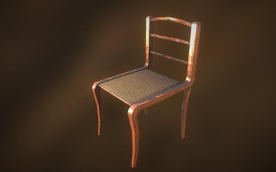 max 19th century chair