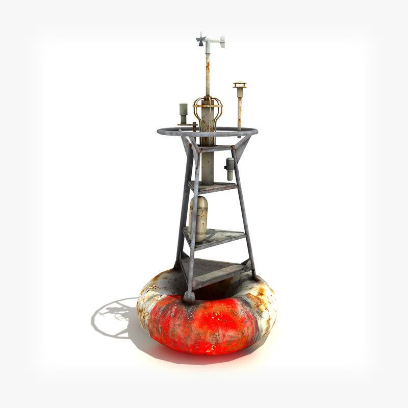low-poly buoy 3d 3ds